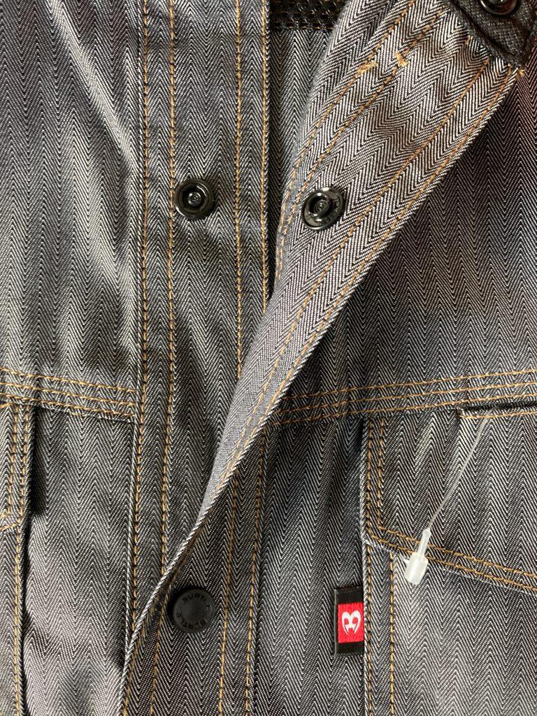 帯電防止の作業服バートル長袖シャツ